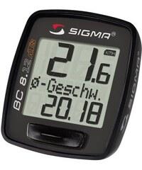 SIGMA SPORT Sport Fahrradcomputer kabellos Topline 2012 BC 8.12 ATS schwarz