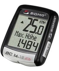 Sport Fahrradcomputer kabellos Topline 2012 BC 14.12 STS ALTI SIGMA SPORT schwarz