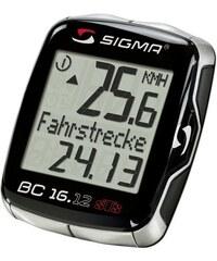 SIGMA SPORT Sport Fahrradcomputer kabellos Topline 2012 BC 16.12 STS schwarz