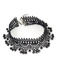 Černý náhrdelník Amelia 29915