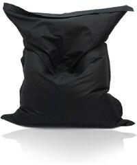 LENO Sedací polštář (pytel) Evropa černý nylon