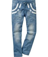 RAINBOW Jean Regular Fit Straight, Longueur (pouces) 32 bleu homme - bonprix