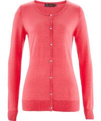 bpc selection premium Premium Cardigan aus Seide/Cashmere langarm in pink für Damen von bonprix