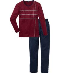 bpc bonprix collection Pyjama langarm in blau für Herren von bonprix