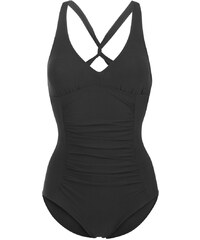 Zoggs SWIM SAFARI TWISTBACK Badeanzug black