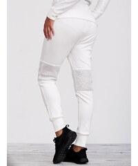 Urban Classics Ladies Scuba Mesh Jogging Pants Off White TB1066