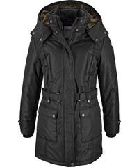 """John Baner JEANSWEAR Manteau d""""hiver noir manches longues femme - bonprix"""