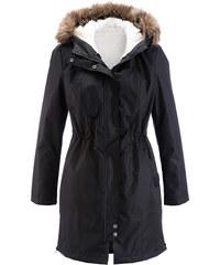bpc bonprix collection Manteau 2 en 1 noir manches longues femme - bonprix