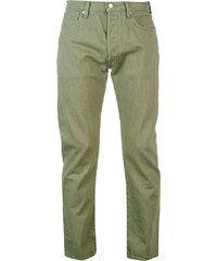 Levis Straight Leg pánské Jeans Olive