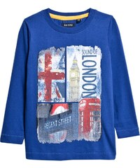 Blue Seven - Dětské tričko s dlouhým rukávem 92-128 cm.