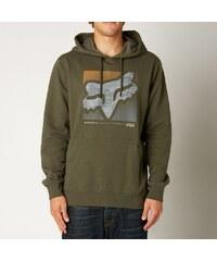Pánská mikina Fox Reliever pullover fleece army M