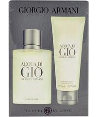 Giorgio Armani Acqua di Gio Pour Homme EDT dárková sada M - Edt 50ml + 75ml balsam po holení