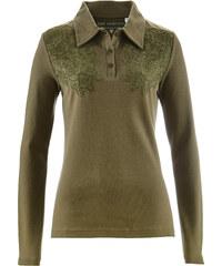 bpc selection Polo vert femme - bonprix