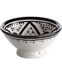 Tine K Home Keramická miska Morocco Black 13 cm