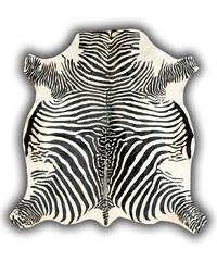 Pipsa Kožená předložka Normand Cow, 210x220 cm, motiv zebry