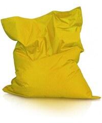 Ecopuf Sedací polštář (pytel) Evropa žlutý nylon