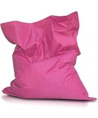 Ecopuf Sedací polštář (pytel) Evropa růžový nylon
