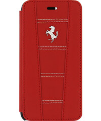Pouzdro / kryt pro Apple iPhone 6 / 6S - Ferrari, 458 Book Red