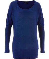 bpc bonprix collection Oversize-Pullover langarm in blau für Damen von bonprix