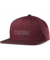 kšiltovka ETNIES - Corporate 5 Maroon (625)