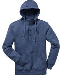 bpc bonprix collection Sweat à capuche Regular Fit bleu manches longues homme - bonprix