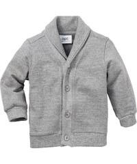 bpc bonprix collection Gilet sweat bébé, T. 56/62-104/110 gris manches longues enfant - bonprix