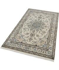 PARWIS Orient-Teppich Parwis Nain Khorasan8 180 000 Knoten/m² handgeknüpft Unikat natur 3 (B/L: 120x200 cm),4 (B/L: 150x250 cm),6 (B/L: 200x300 cm)