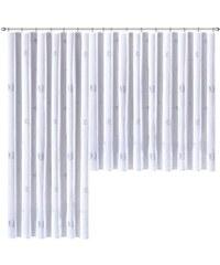 Weckbrodt-Gardinen Gardine -Gardinen Laura (1 Stück) blau 1 (H/B: 125/250 cm),10 (H/B: 145/750 cm),2 (H/B: 125/375 cm),3 (H/B: 125/500 cm),4 (H/B: 125/625 cm),5 (H/B: 125/750 cm),6 (H/B: 145/250 cm),7