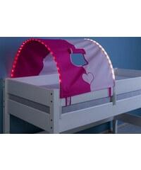 Kinder LED-Tunnel RELITA pink/rosa, Herz