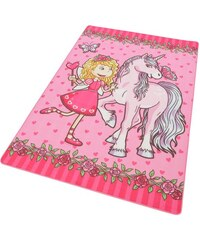 BÖING CARPET Kinder-Teppich Böing Carpet Lovely Kids LK-9 rosa 3 (B/L: 100x160 cm),4 (B/L: 140x200 cm)