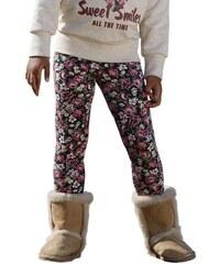 KIDOKI Sweatleggings mit Blumen-Muster für Mädchen bunt 92,98,104,110,116,122,128,134,140