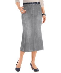 Damen Collection L. Jeans-Rock in dezenter Waschung COLLECTION L. grau 19,20,21,22,23,24,25