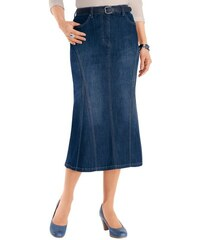 Damen Collection L. Jeans-Rock in dezenter Waschung COLLECTION L. blau 19,20,21,22,23,24,25