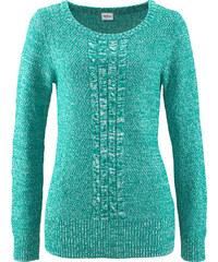 John Baner JEANSWEAR Pullover , Langarm in grün für Damen von bonprix