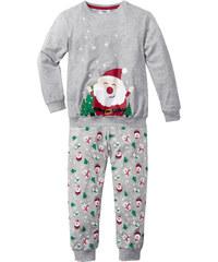 bpc bonprix collection Pyjama (2-tlg. Set) in grau für Jungen von bonprix