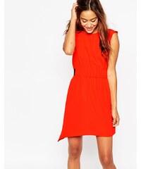 ASOS - Ärmelloses Kleid - Rot