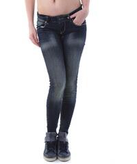 Dámské jeans Sexy Woman 59737 - Tmavě modrá / XXS
