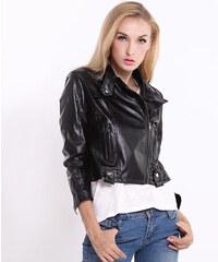 Lesara Jacke im Leder-Look - S