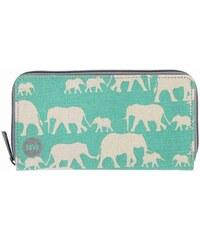 peněženka MI-PAC - Zip Purse Elephants Mint (022)