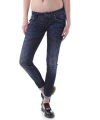 Dámské jeans Sexy Woman 59724 - Tmavě modrá / XXS