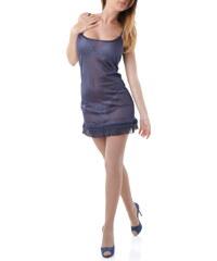 Dámské šaty Cristina Gavioli 53005 - XL / Tmavě modrá