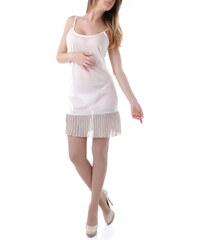 Dámské šaty Rebecca 53003 - Hnědá / S/M