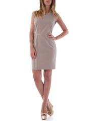 Dámské šaty Olivia Hops 52592 - 42 / Světle hnědá
