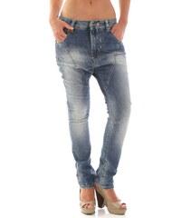 Dámské jeans Sexy Woman 52577 - Azurová / XXS