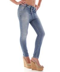 Dámské jeans Sexy Woman 52576 - Azurová / XXS