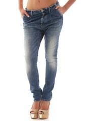 Dámské jeans Sexy Woman 52574 - M / Azurová