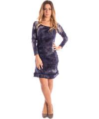 Dámské šaty Modella 50754 - Modrá / S