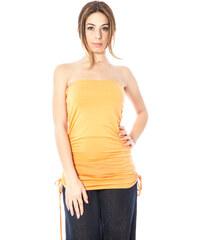 Dámské šaty Kontatto 49664 - S / Oranžová