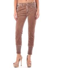 Dámské kalhoty Sexy Woman 46674 - Hnědá / XS