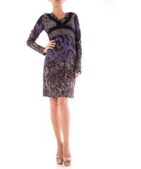 Dámské šaty Cristina Gavioli 46088 - Modro fialová / S/M